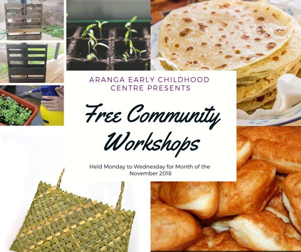 Free Community Workshops