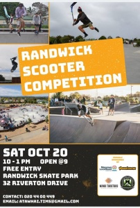 Randwick Scooter Competition